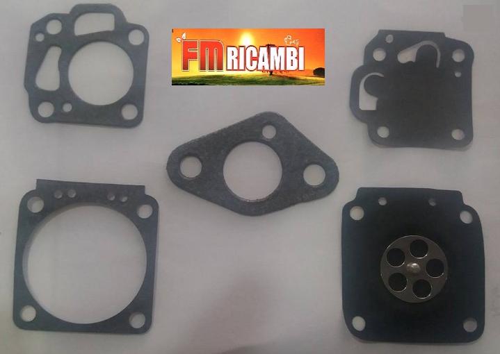 kit membrane per carburatore nikki