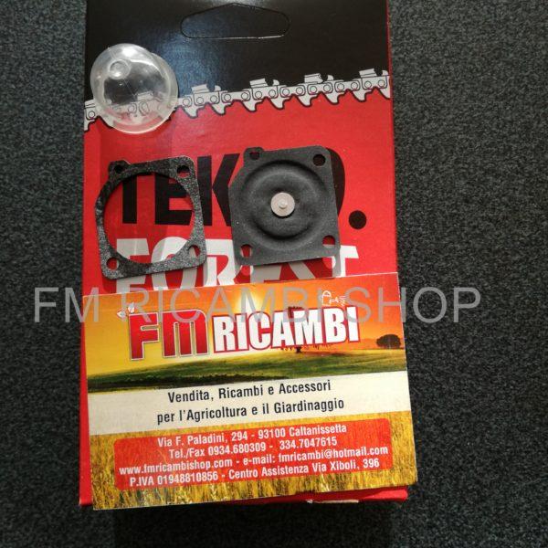 membrane per carburatore + catena + primer