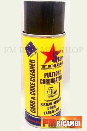 pulitore carburatori star tech professional 400 ml
